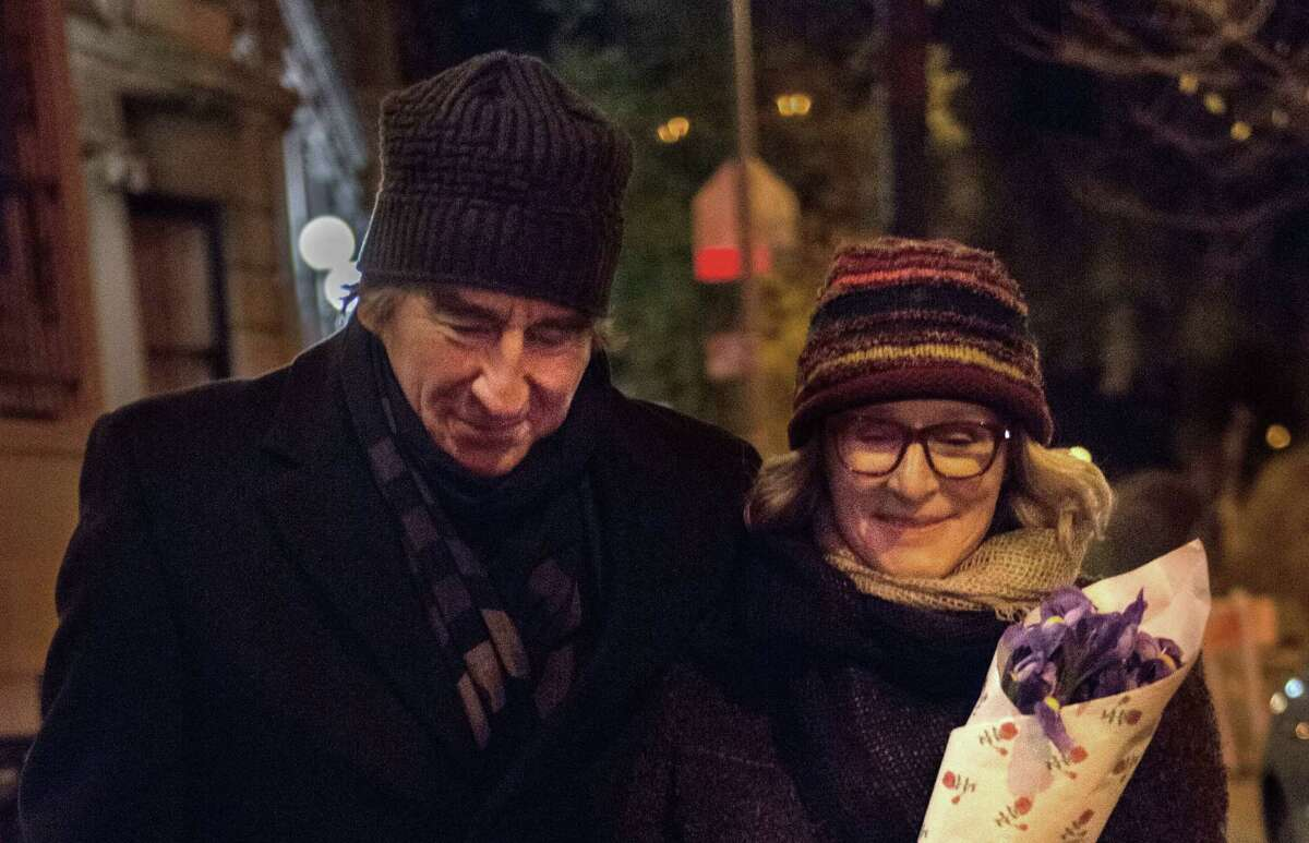 """Sam Waterston and Glenn Close star in """"Anesthesia."""""""