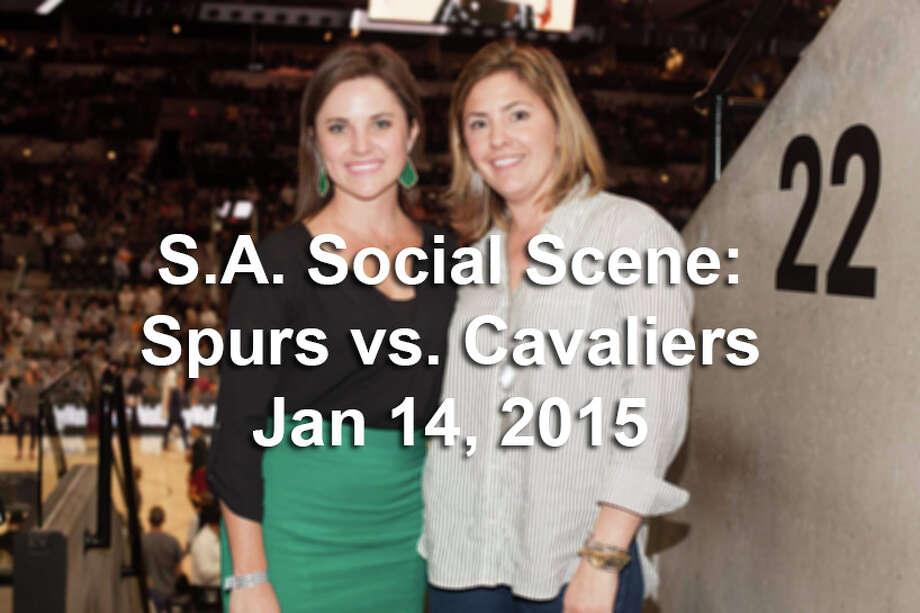 See who was at the AT&T Center as the San Antonio Spurs defeated the Cleveland Cavaliers 99-95 on Jan 14, 2015 to extend their record to 35-6. Photo: By Fabian Villa / For MySA.com