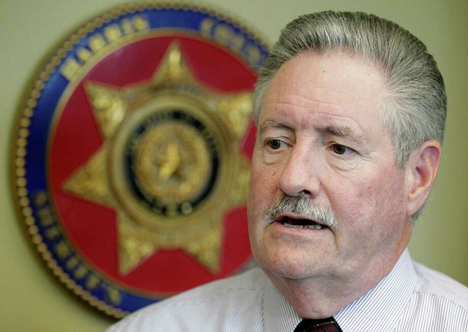 Sheriff Ron Hickman says he regrets saying that anti-police rhetoric nationwide had gotten out of control. Photo: James Nielsen, Staff / © 2015  Houston Chronicle