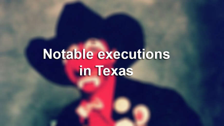 Notable executions in Texas.