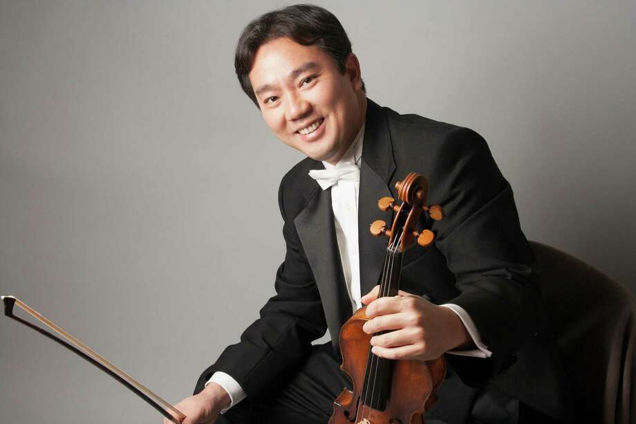 A chamber music concert will honor violinist Frank Huang,  the Houston Symphony concertmaster who has been tapped for the New York Philharmonic. Photo: Eric Arbiter