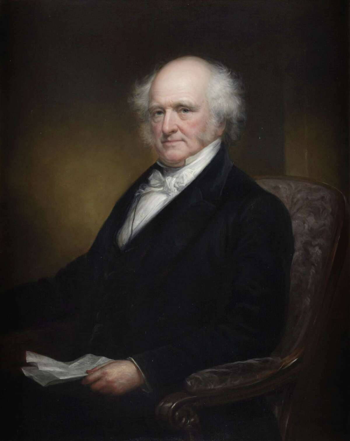 Before being elected the eighth president of the United States in 1836, Kinderhook native Martin Van Buren spent most of his life in New York politics.