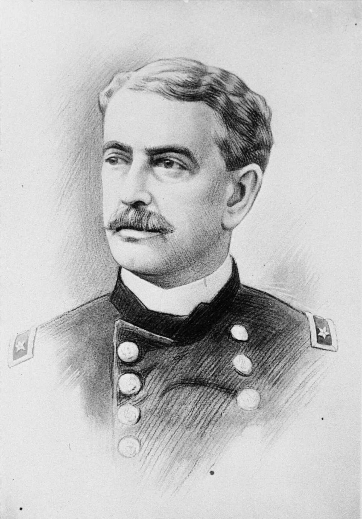 Ballston Spa Abner Doubleday Civil War Union major general who fired the first shot in defense of Fort Sumter, long credited (later debunked) with inventing the game of baseball