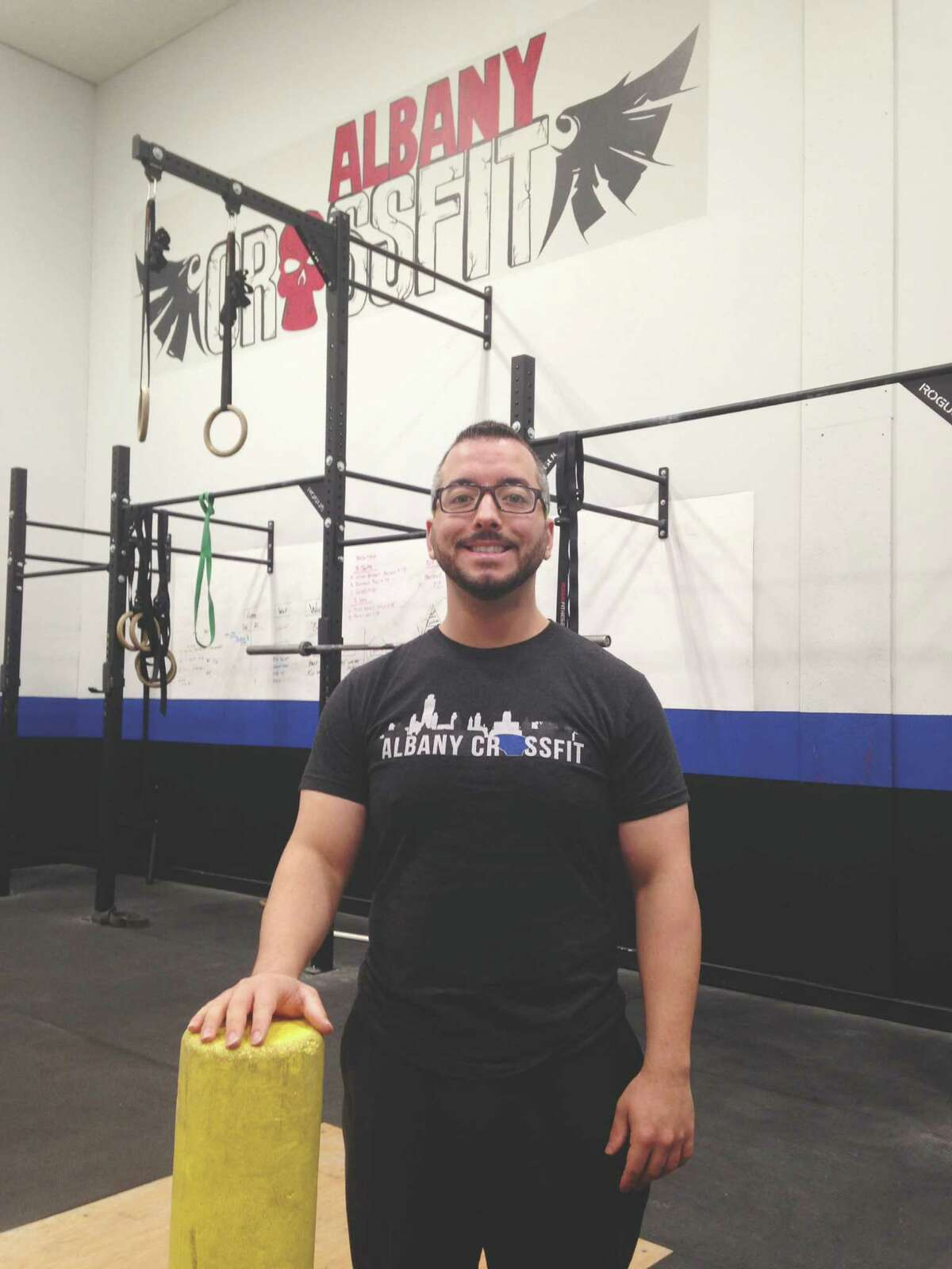James McDermott, Head Coach at Albany Crossfit in Colonie. (Carin Lane / Times Union)