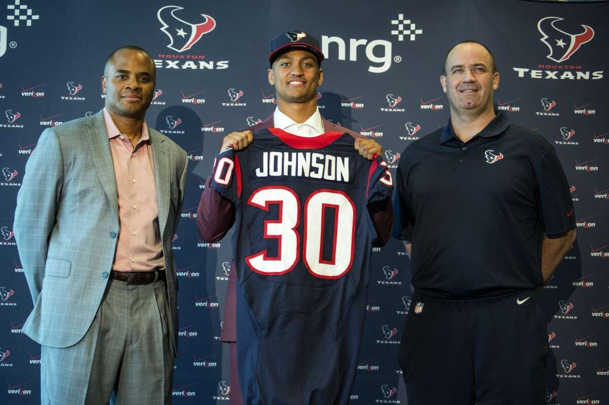 GENERAL MANAGER/COACH: B-GM RICK SMITHBest move: CB Kevin Johnson. Comment: The first-round pick gave the Texans three good corners and helped improve the secondary. Worst move: FS Rahim Moore. Comment: The unrestricted free agent played badly and was benched after the 2-5 start. COACH BILL O'BRIEN Best move: Exceptional job of preparing quarterbacks T.J. Yates and Brandon Weeden to play. Worst move: Benching quarterback Brian Hoyer after the opener and replacing him with Ryan Mallett.