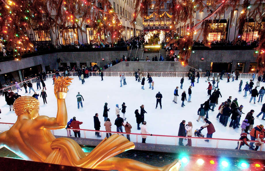 10. New York City's Rockefeller CenterHome to NBC in Midtown Manhattan, 30 Rock is a major sightseeing destination in New York City. Visitors can visit the top of the Rock for a beautiful city view, take a studio tour, or, if it's the wintertime, spend a little time ice skating. Photo: ED BAILEY / AP