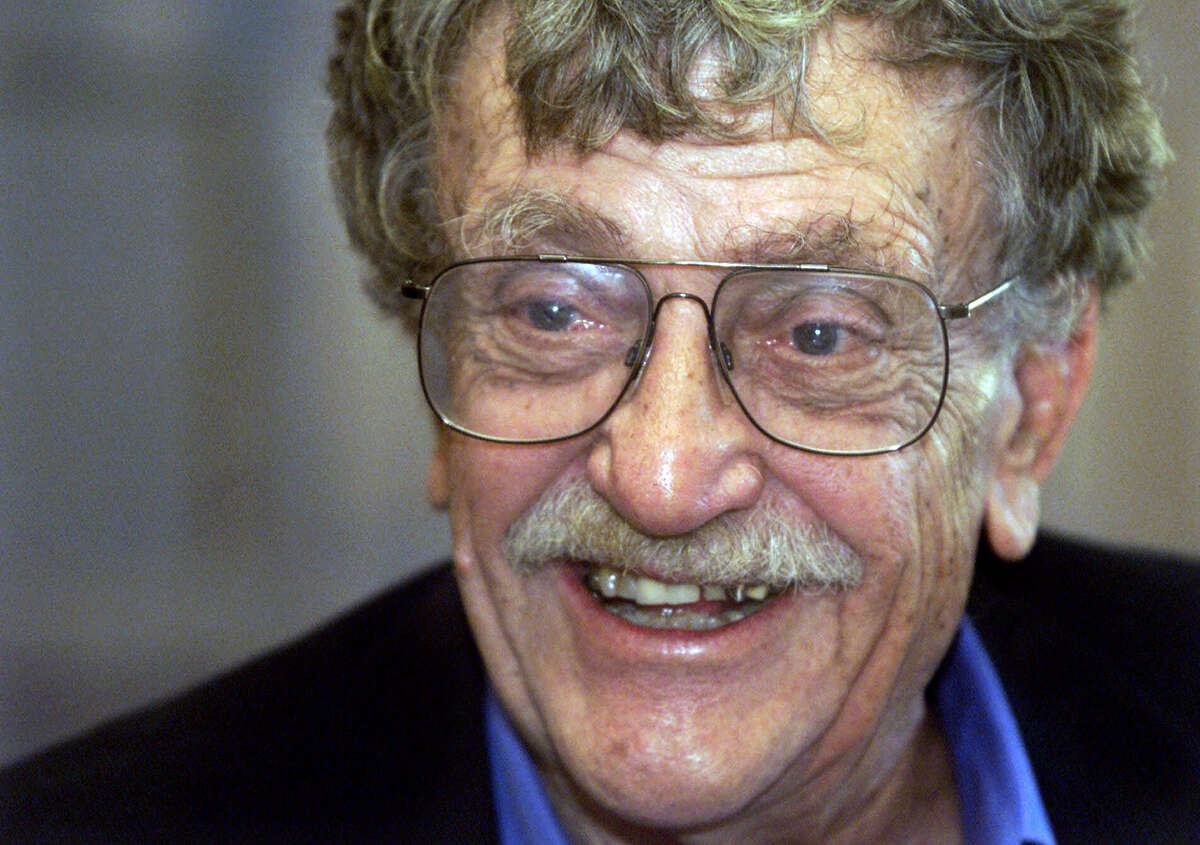 Kurt Vonnegut - The late, great author and humanist followed his traumatic World War II experiences as a soldier by coming to Schenectady to work as a technical writer at General Electric, living in an apartment in Alplaus. (AP Photo/Iowa City Gazette, Buzz Orr, File)