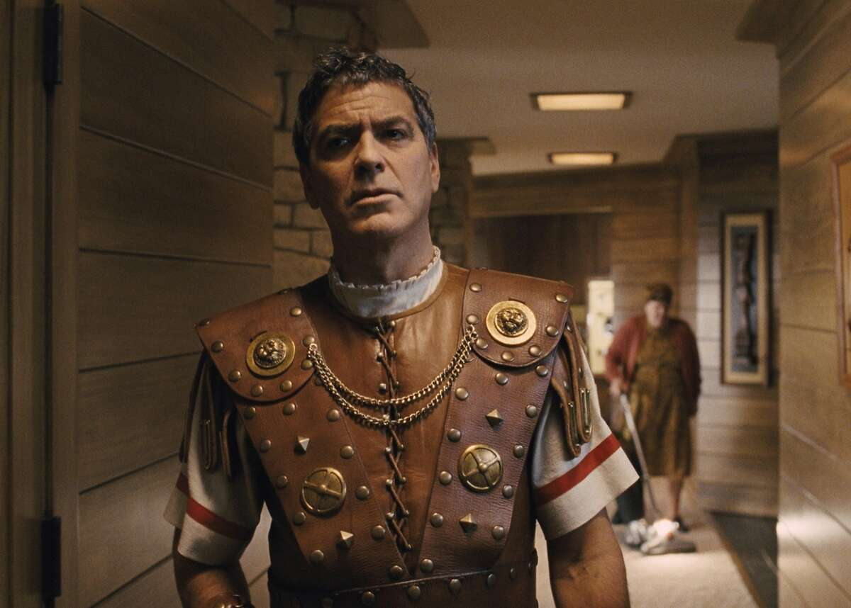 George Clooney is a dim-witted actor playing a centurion in a sweeping biblical epic in