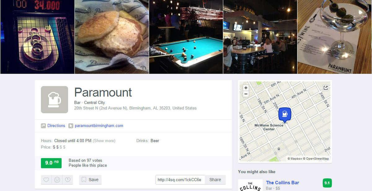 Alabama Paramount 20th Street N (2nd Avenue N), Birmingham