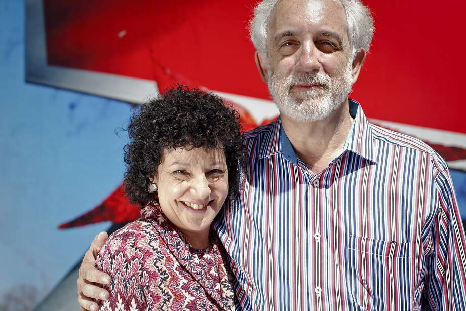 Mitch Kapor and Freada Kapor Klein want firms to codify diversity goals and report progress. Photo: Russell Yip, The Chronicle