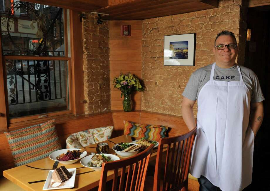 Chef John Futia of Lark & Lily on Thursday Jan. 14, 2016 in Albany, N.Y. (Michael P. Farrell/Times Union) Photo: Michael P. Farrell / 10034951A