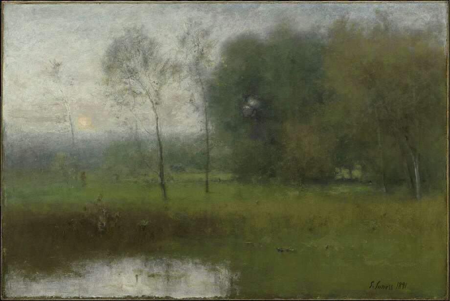 George Inness, New Jersey Landscape, 1891. Oil on canvas