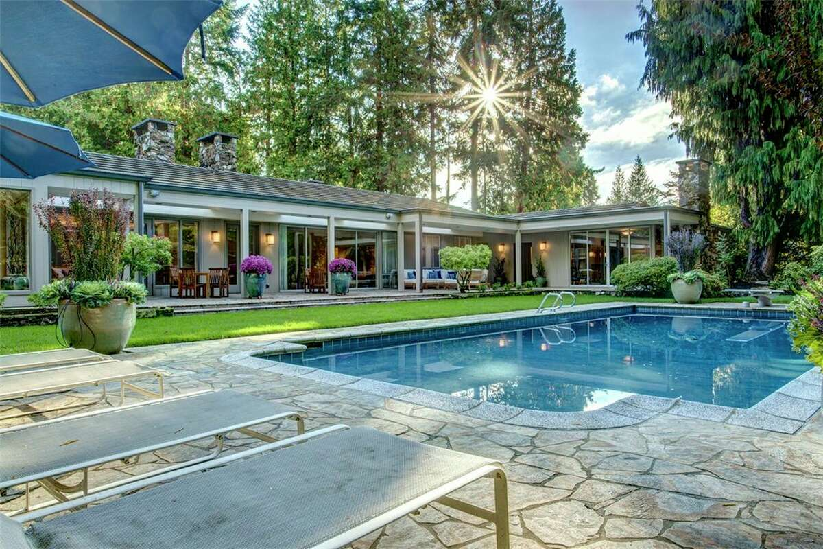 The estate, 1019 Evergreen Point Rd., was once owned by rocker Steve Miller. It was most recently owned by Elizabeth Blakeney, a philanthropist and major arts supporter. The home has five bedrooms and 4.75 bathrooms. You can see the full listing here.