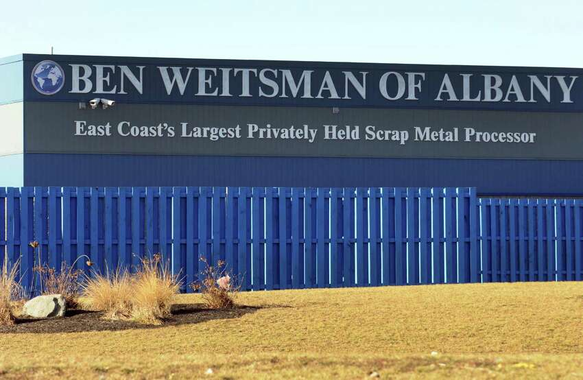 The Ben Weitsman Scrap Yard on Thursday Jan. 21, 2016 in Albany, N.Y. (Michael P. Farrell/Times Union)