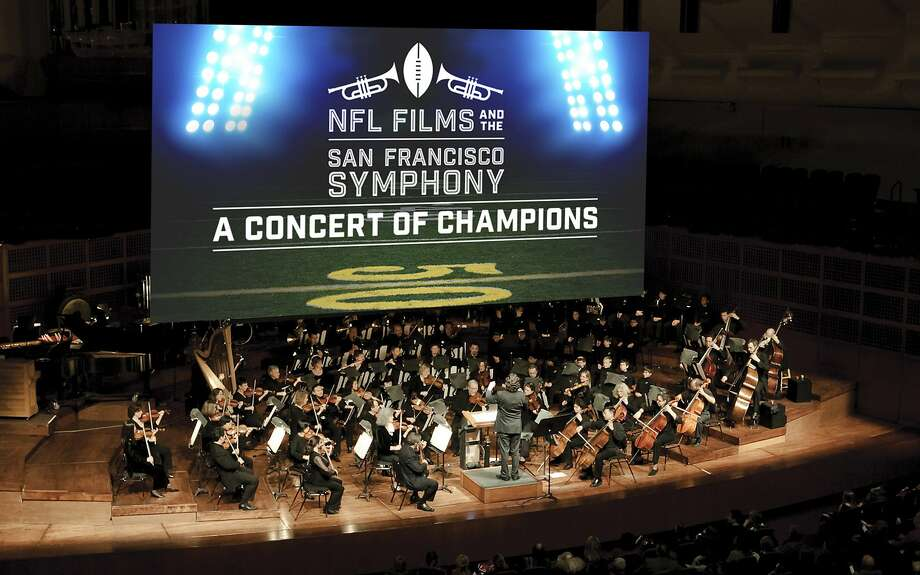 The San Francisco Symphony will play music composed for the NFL films being screened. Photo: Courtesy S.F. Symphony