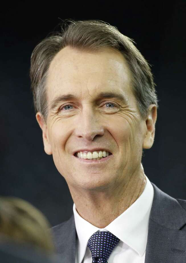Cris Collinsworth was a solid wide receiver for the Cincinnati Bengals but has been a better broadcaster. (Photo by Scott Halleran/Getty Images) ORG XMIT: 587447679 ORG XMIT: MER2016012116562219 Photo: Scott Halleran / 2015 Getty Images
