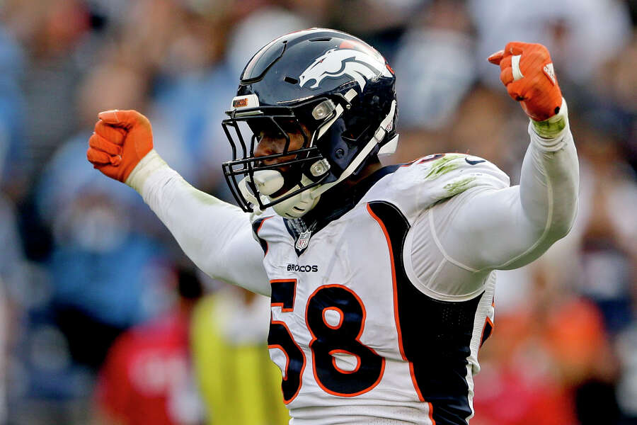 d5ca060c Broncos' Von Miller relives his National Signing Day experience with ...
