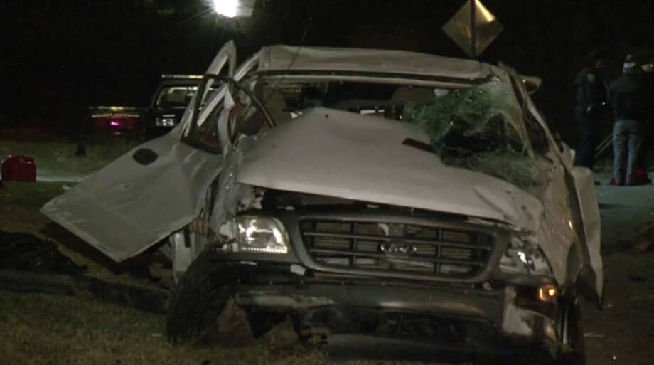 Horrific pickup crash leaves 2 dead, 1 critically hurt in