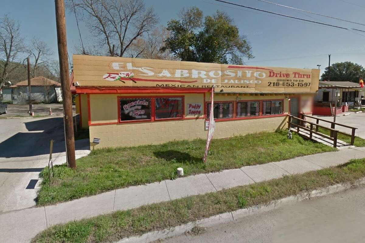 El Sabrosito De Jalisco: 118 N. Weidner Road, San Antonio, Texas 78233Date: 09/08/2016 Score: 68Highlights: Inspector observed cook handling tortillas with bare hands, employees did not wash their hands before donning gloves, rice prepared day prior did not read correct temperature in refrigerator, food not protected from cross contamination (chicken stored above beef in refrigeration unit), grease and debris build up seen on walls.