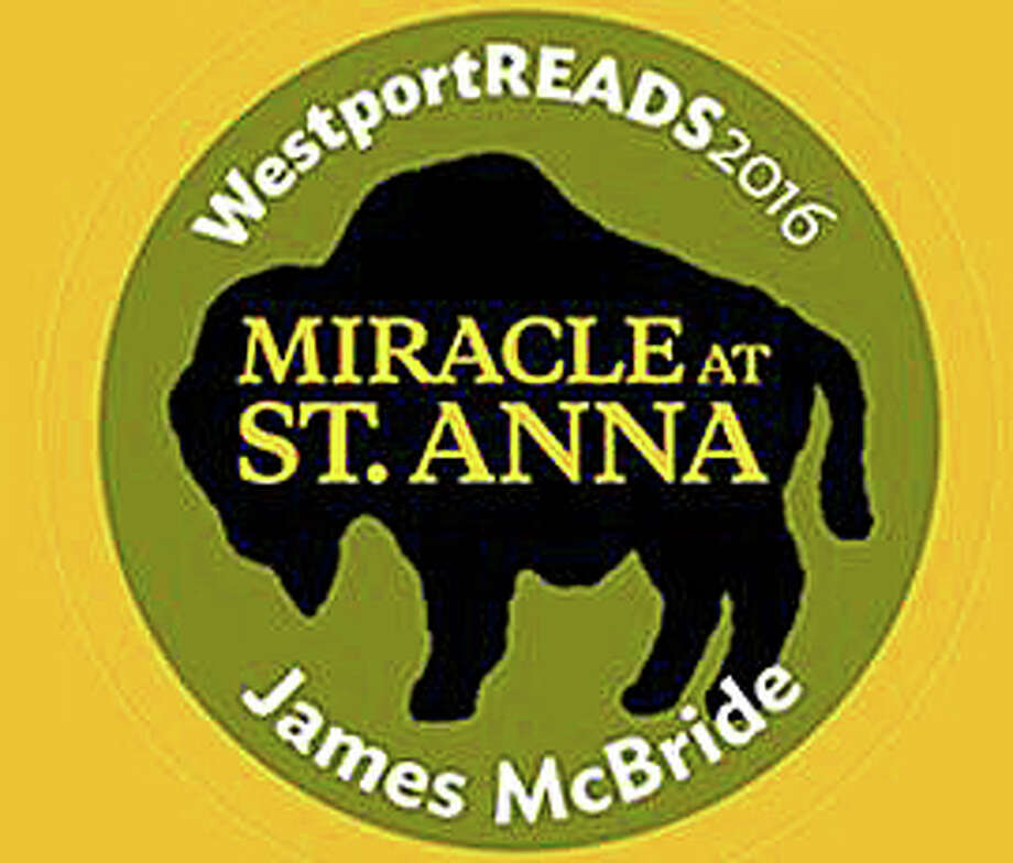 The keynote address of this year's WestportREADS program by James McBride, the author of ìMiracle at St. Anna,î has been reschuled to Jan. 30 because of the snow storm. Photo: Contributed Photo / Contributed Photo / Westport News