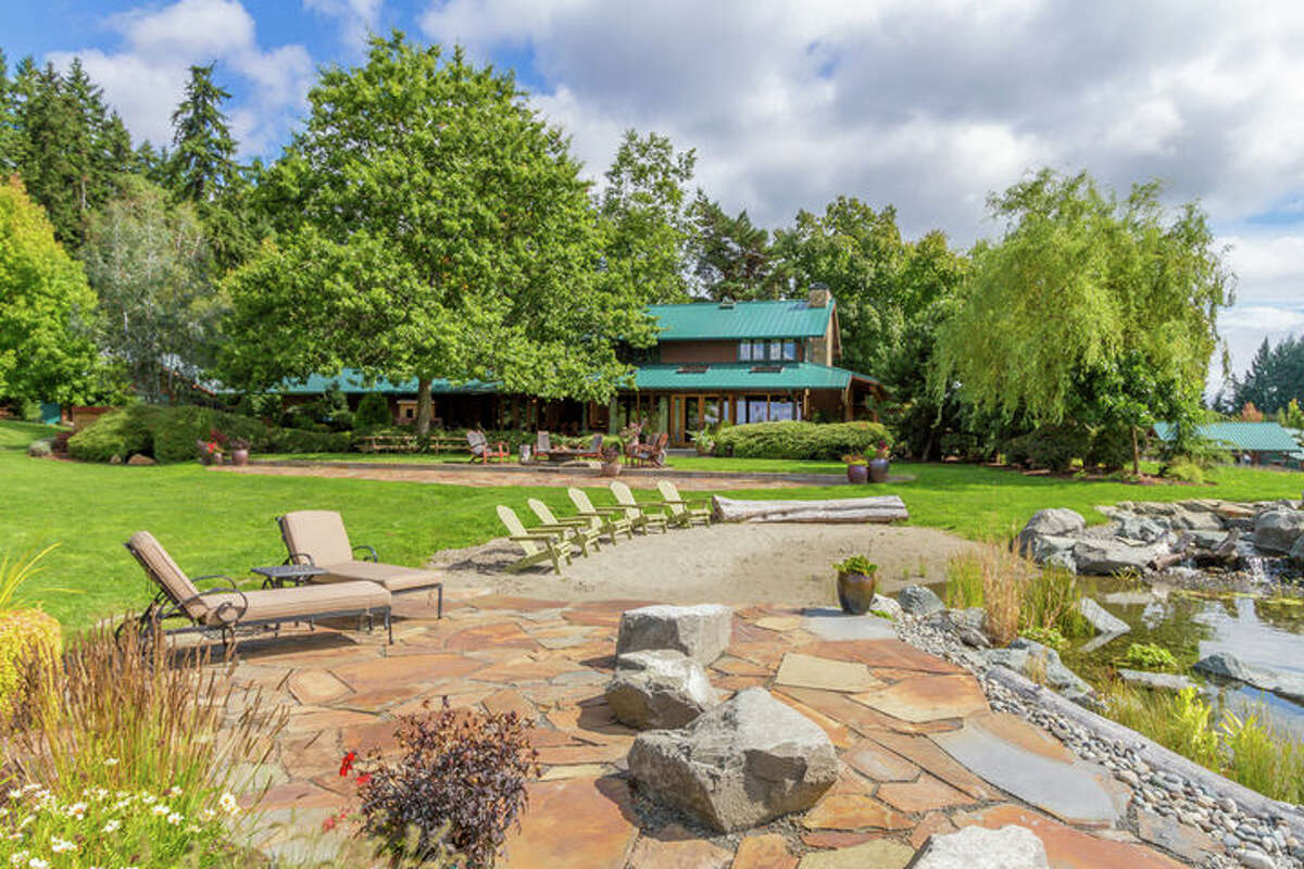 The property is at 8929 Mandus Olson Road Northeast. It's listed for $3.5 million.
