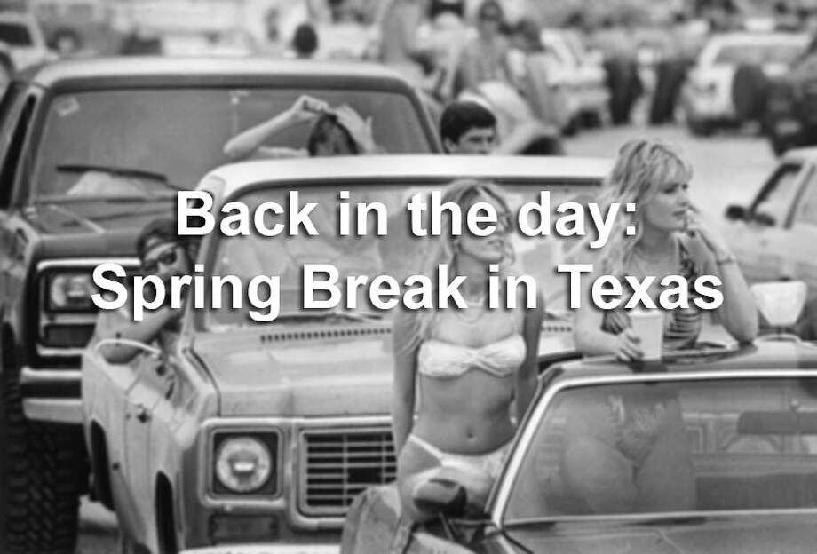 By the late 1980s, Texas hot spots for spring break, from Matamoros to Galveston were in full swing. These archived photos take a look back to how students indulged in this annual blowout nearly 30 years ago.