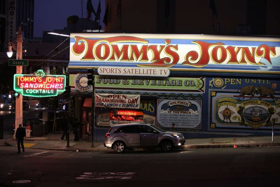 San Francisco hofbrau Tommy's Joynt  has been around since 1947. Photo: Liz Hafalia, The Chronicle