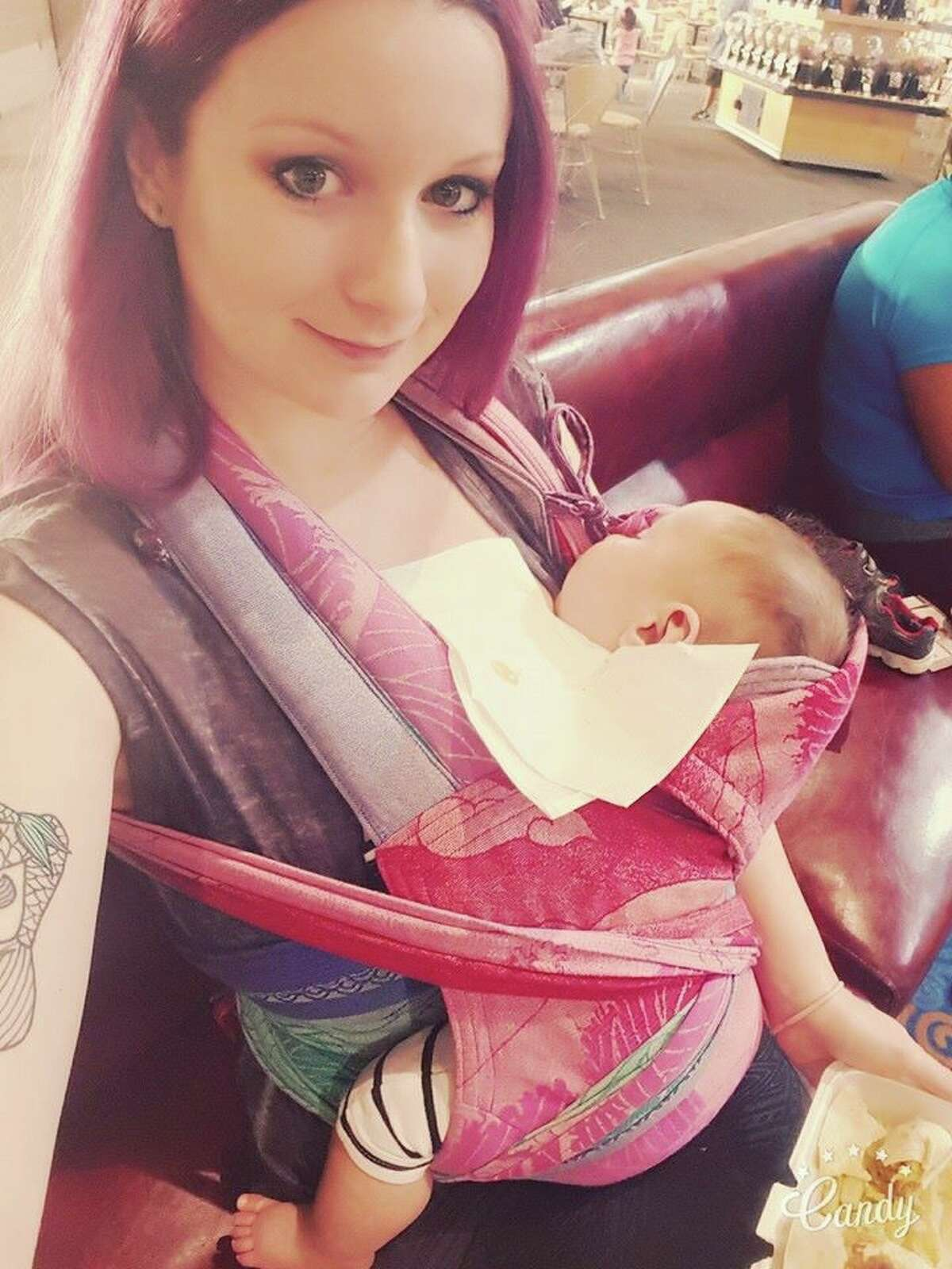 Lake Jackson stay-at-home momBridgette Boudreaux, 24, has found a market for jewelry made out of preserved breast milk. The milk gets sent to her from customers all around the world who have found her online who would like her to make charms and necklaces from portions of their milk.