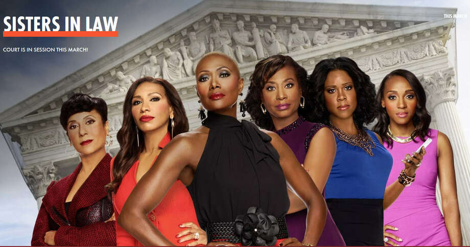 "The new WE network reality show, ""Sisters In Law,"" stars six Houston attorneys, including HISD Trustee Jolanda Jones. Keep clicking to see Houston reality-TV stars. Photo: WE Network"