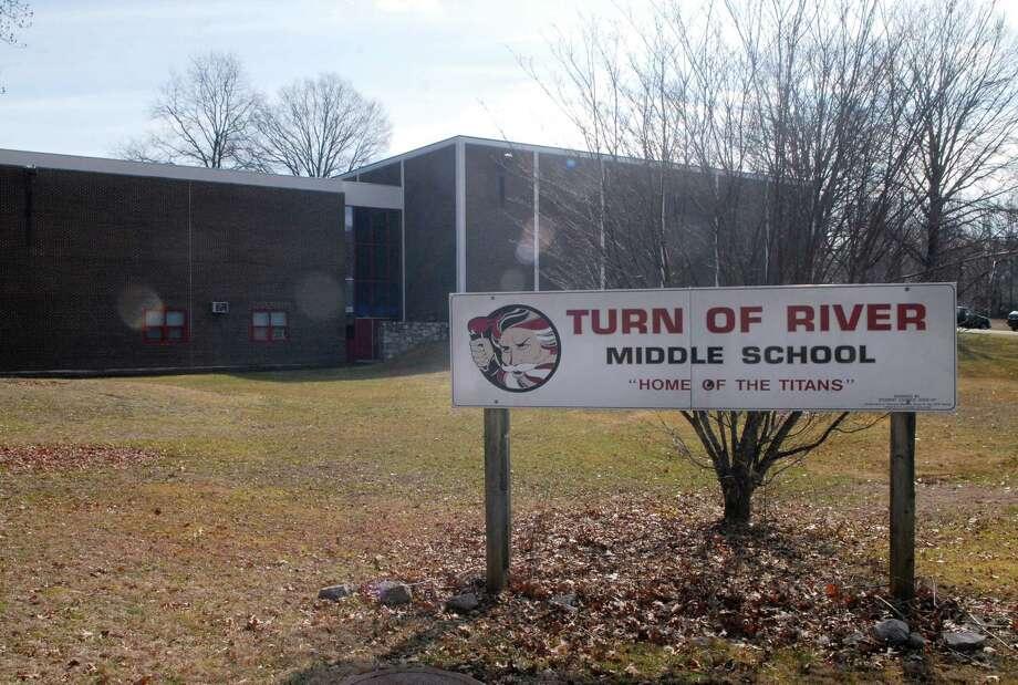 Turn of River Middle School. Photo: Dru Nadler / Dru Nadler / Stamford Advocate Freelance