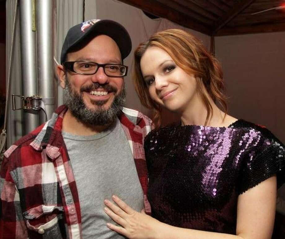 David Cross and Amber Tamblyn. Photo: Eonline