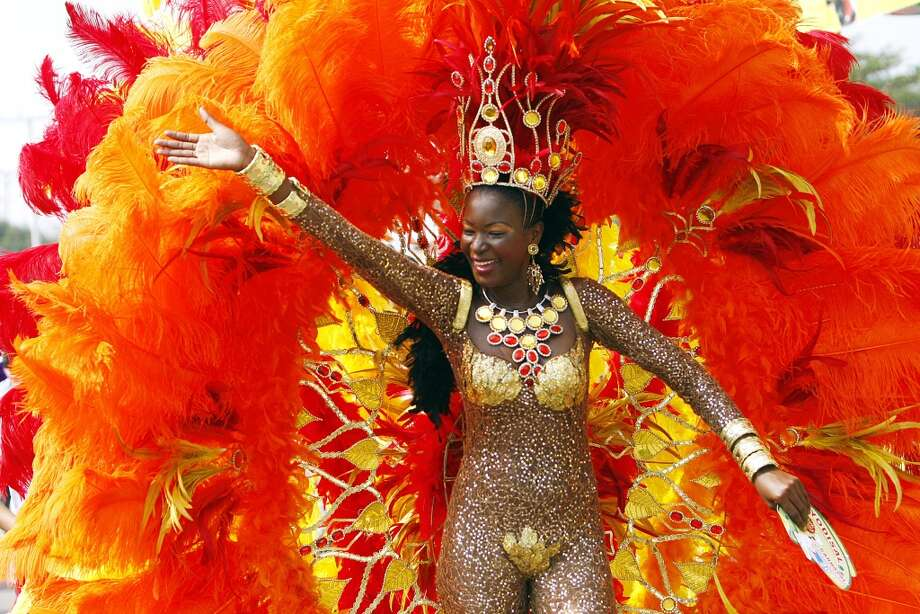 "The 100 year-old Barranquilla's carnival was declared by the UNESCO in 2003 to be a ""Masterpiece of Oral and Intangible Heritage of Humanity"". Photo: STR, AFP/Getty Images"