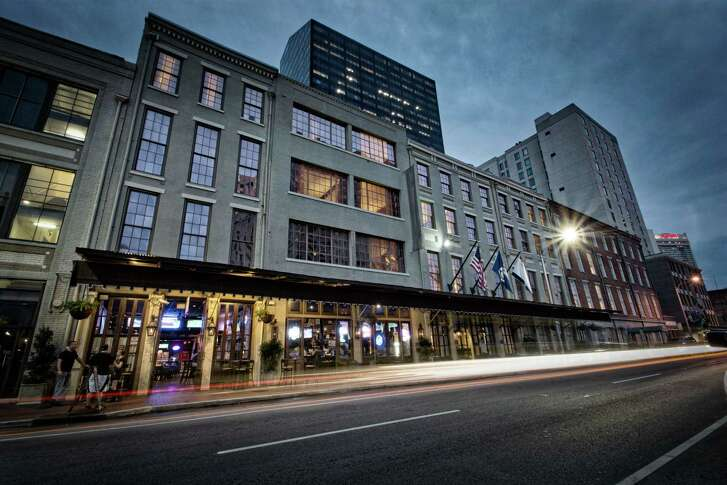 The Old No. 77 Hotel & Chandlery is a swanky rebranding of the former Ambassador Hotel in New Orleans' Warehouse District.