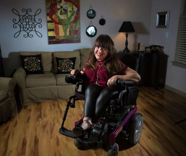 Angela Wrigglesworth, 38, is a third grade teacher in Klein ISD and is a former Ms. Wheelchair Texas winner.