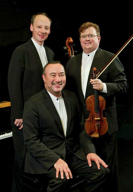 "The Montrose Trio will perform Pierre Jalbert's ""Street Antiphons"" on Friday. Photo: Jerry Zolynksy"