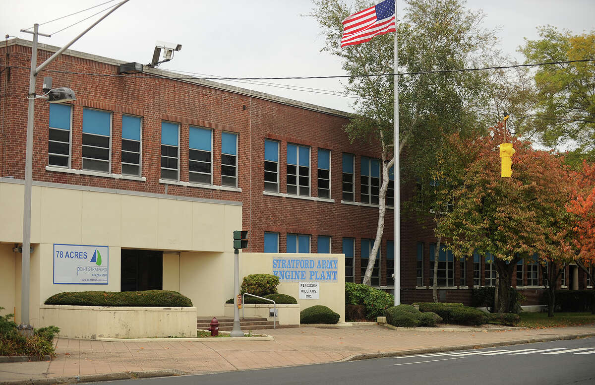 The Stratford Army Engine Plant on Main Street in Stratford, Conn. on Wednesday, October 30, 2013.