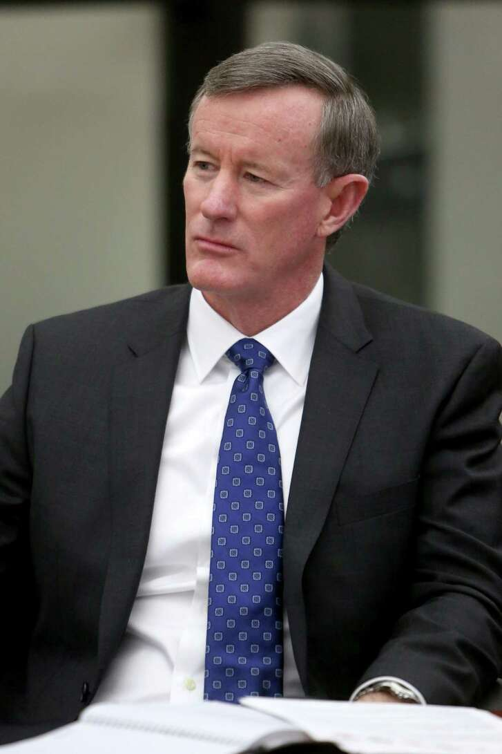 University of Texas System Chancellor William McRaven ( Gary Coronado / Houston Chronicle )