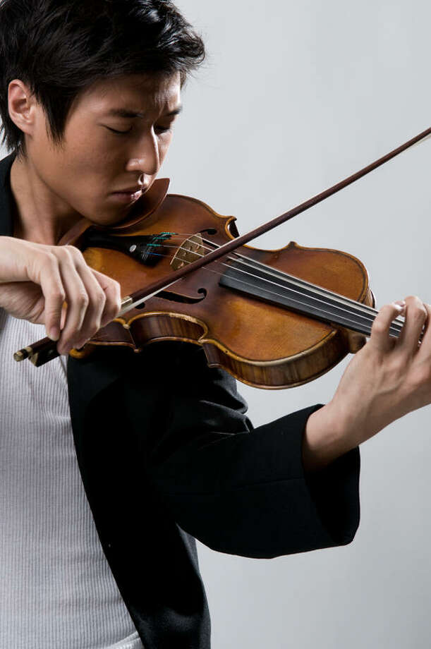 Crossover violinist Charles Yang will perform with the Empire State Youth Orchestra Jan. 30 at Proctors Theatre in Schenectady. (http://www.charlesyangmusic.com) Photo: Peter Wang / +-6 STUDIO