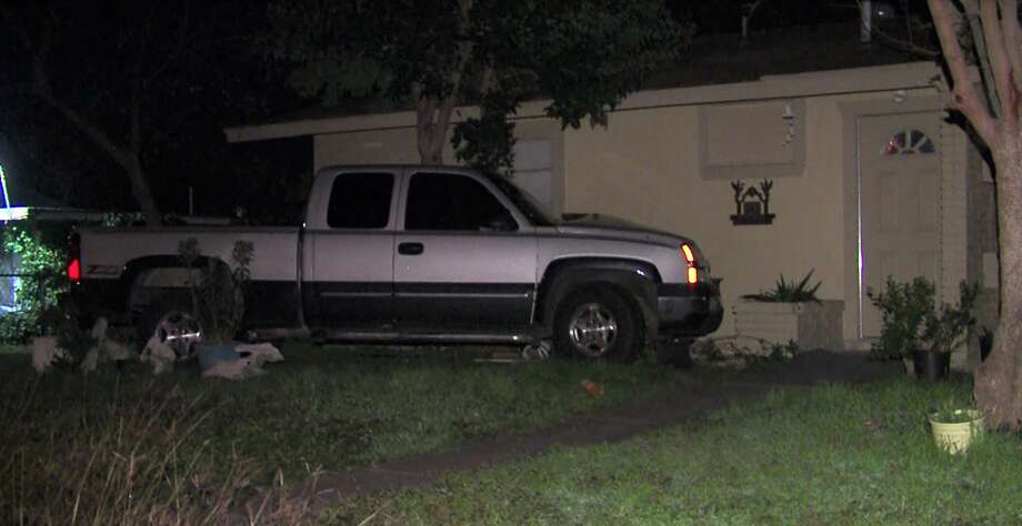 A man allegedly drunkenly crashed into a home on the West Side on Jan. 23, 2016.