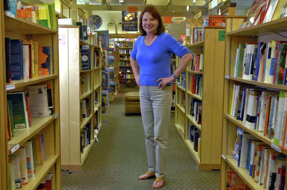 Times Union Staff photograph by Philip Kamrass -- Susan Novotny, owner of The Book House stands in the store, at Stuyvesant Plaza in Guilderland, NY Wednesday September 10, 2008. A new facade, a new cash wrap area and a seating area are being added. FOR CAPITALAND QUARTERLY ROBERT GAVIN STORY, CQ 3 2008. Photo: PHILIP KAMRASS PHILIP KAMRASS / 00000243A