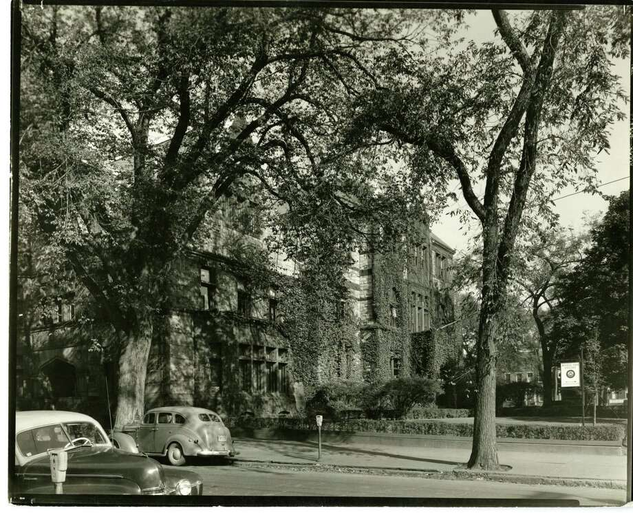 A view of the Russell Sage campus as seen around the 1940s or 50s. (Photo provided)
