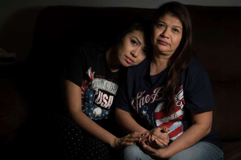 Jessica Rangel, 25, has been in Houston for more than two decades after her mother, Laura Velazquez, brought her over from Tampico, Mexico, without documents. Rangel does community outreach at the immigrant advocacy group FIEL Houston.  Photo: Marie D. De Jesus, Staff / © 2016 Marie D. De Jesus