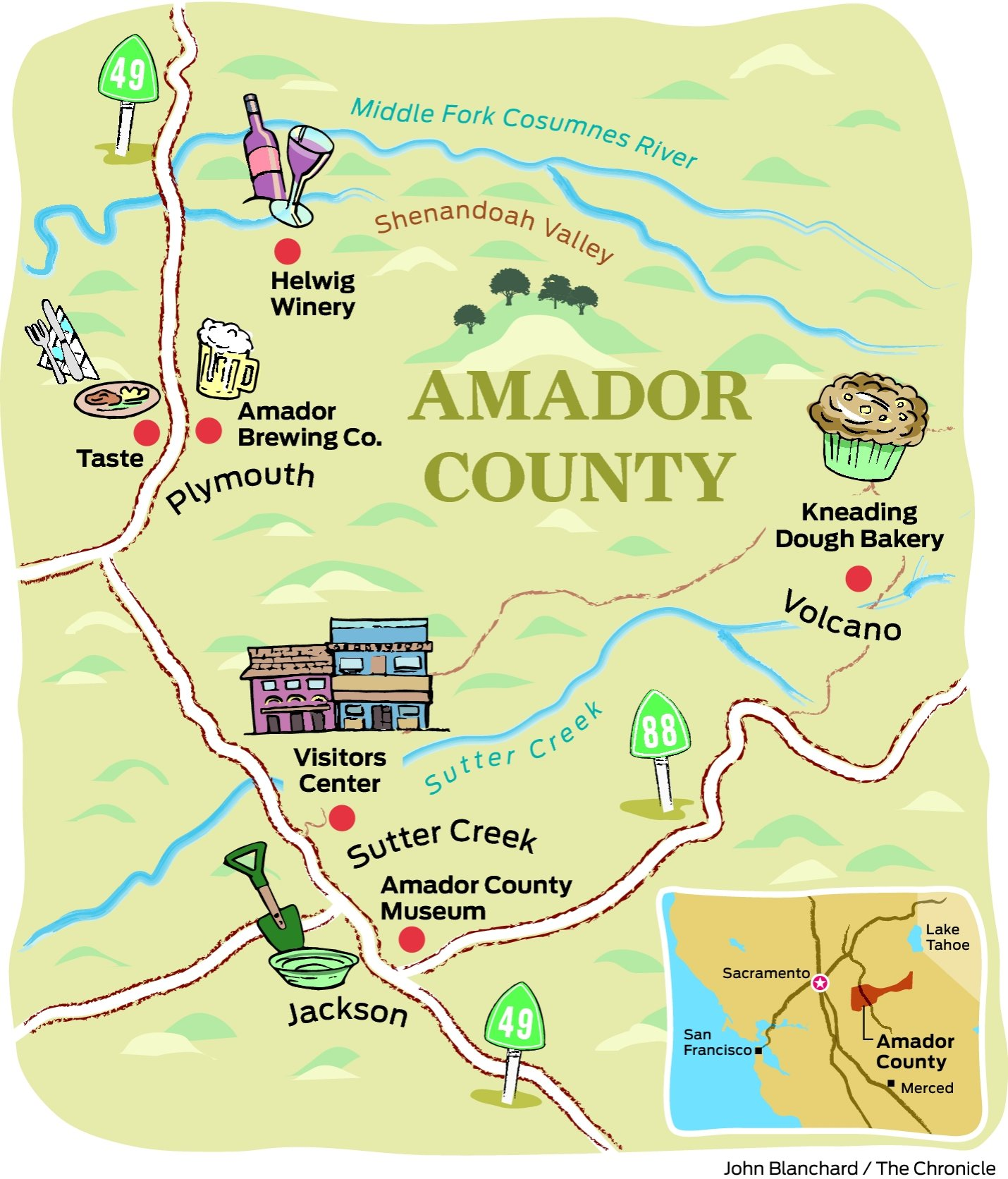 Road trip: Amador County at your own speed - SFGate