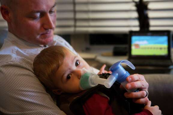 Jack has cystic fibrosis, a lifelong disease that damages the lungs and pancreas. There is no cure.
