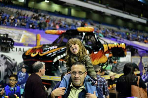 The Alamodome got loud and crazy Saturday night with the sights and sounds of Monster Jam!
