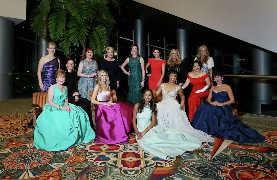 The 2016 Women of Distinction at the Age of Aquarius Winter Ball Photo: Jon Shapley, Houston Chronicle / © 2015  Houston Chronicle