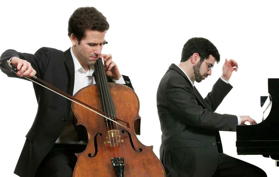 Cellist Nicholas Canellakis and pianist Michael Brown will perform a Music for Youth concert Feb. 6 at the Pequot Library. Photo: Contributed Photo / Fairfield Citizen