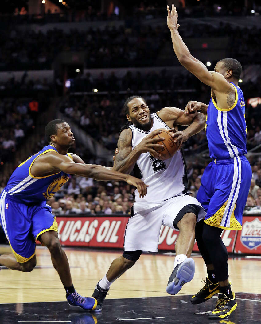 16. A historic matchup This is the latest in the season two teams with at least an .850 winning percentage have met. The Warriors (40-4) and Spurs (38-6) are both on pace to become just the second and third teams in NBA history to reach 70 wins.