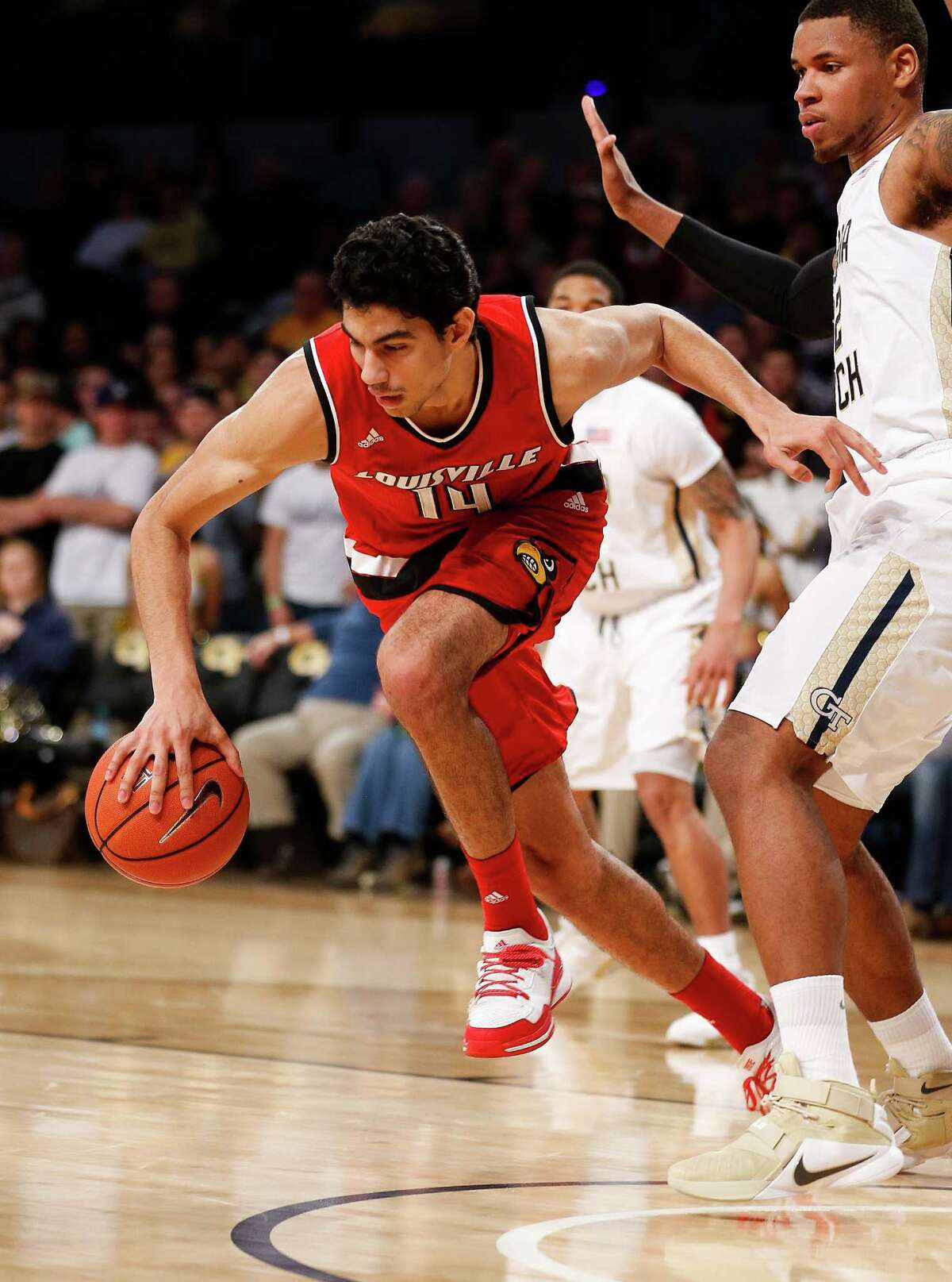 3. No. 17 Louisville 75, Georgia Tech 71 - In a tight contest featuring 11 lead changes on Saturday, the Cardinals were bailed out by a career-high 15 points from not-so-ballyhooed sophomore Anas Mahmoud.