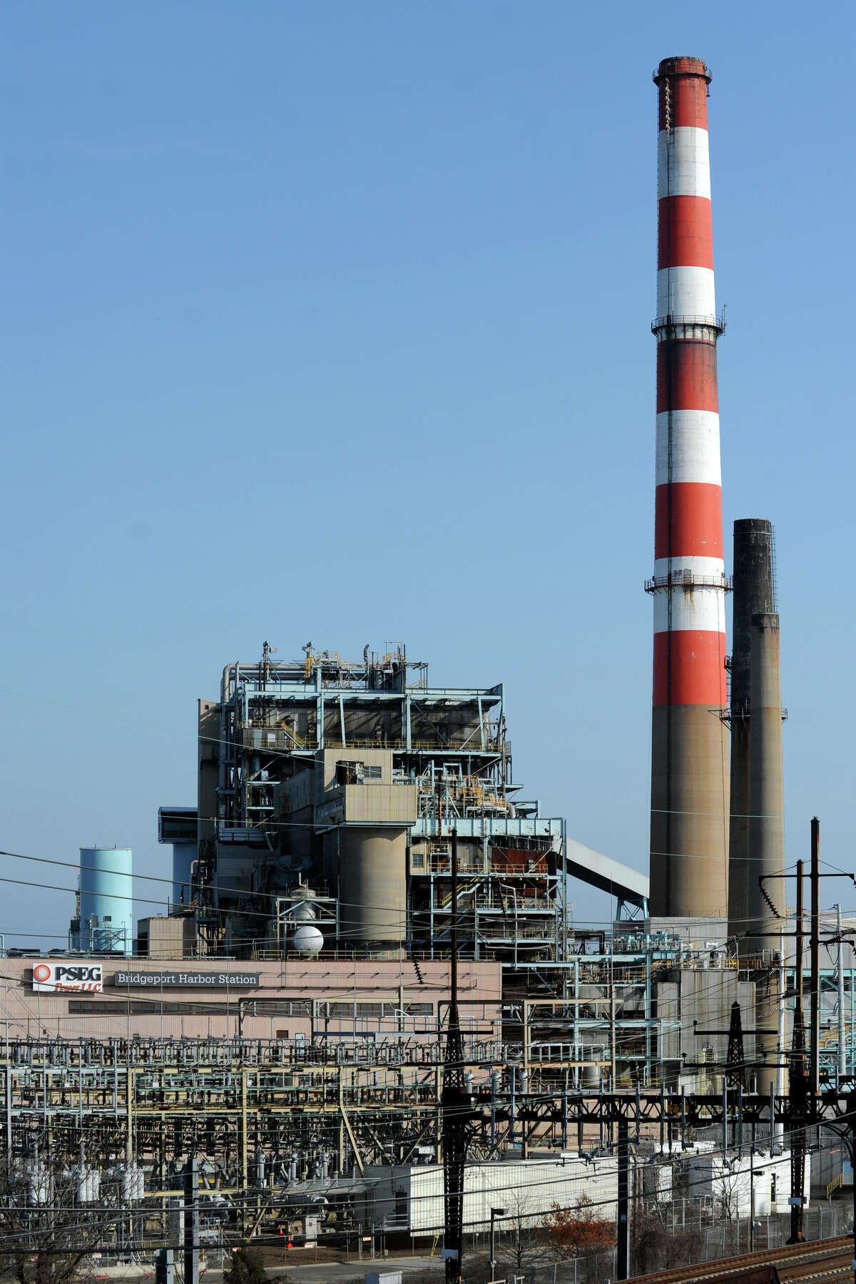 PSEG's Bridgeport Harbor Station power plant, in Bridgeport, Conn., April 24th, 2013.